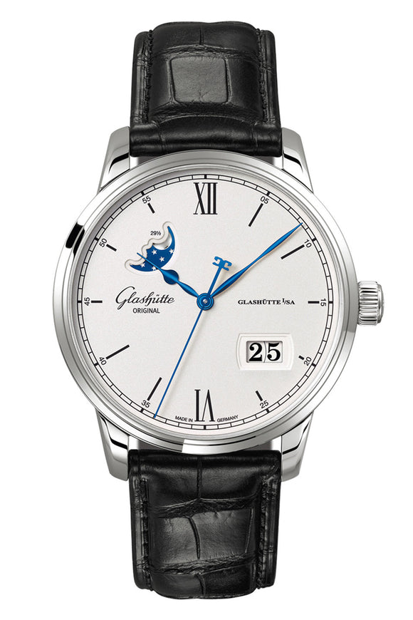 Glashütte Original Senator Excellence Panorama Date Moon Phase 1-36-01-01-02-01