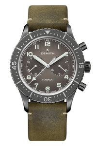 Zenith Pilot Cronometro Tipo CP-2 Flyback Aged Steel 11.2240.405/21.C773