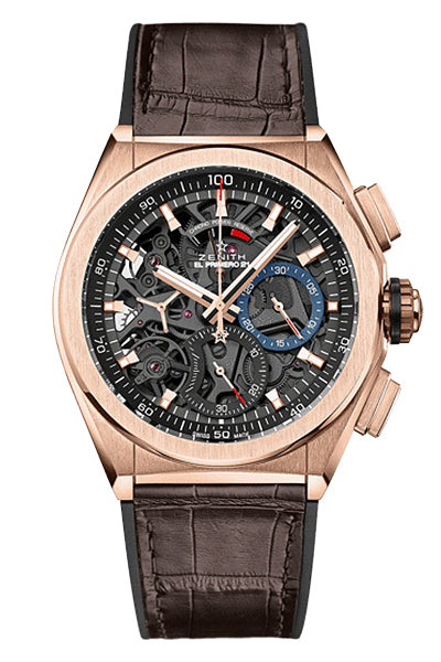 Zenith Rose Gold Open Defy 21 (18.9000.9004/71.R585)