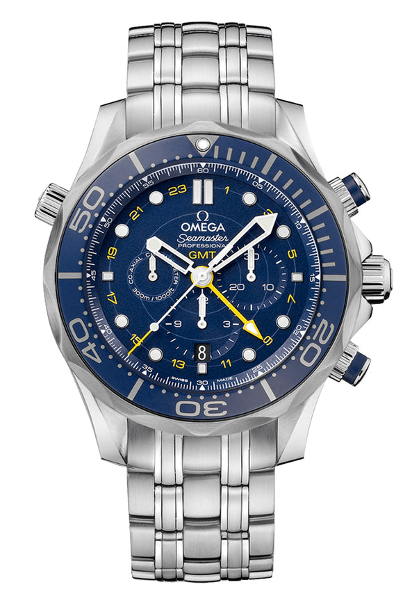Omega Seamaster Diver 300M GMT Chronograph 212.30.44.52.03.001