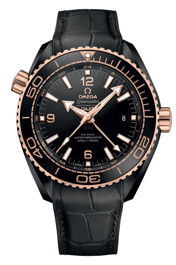 Omega Seamaster Planet Ocean 600M Chronometer GMT 215.63.46.22.01.001