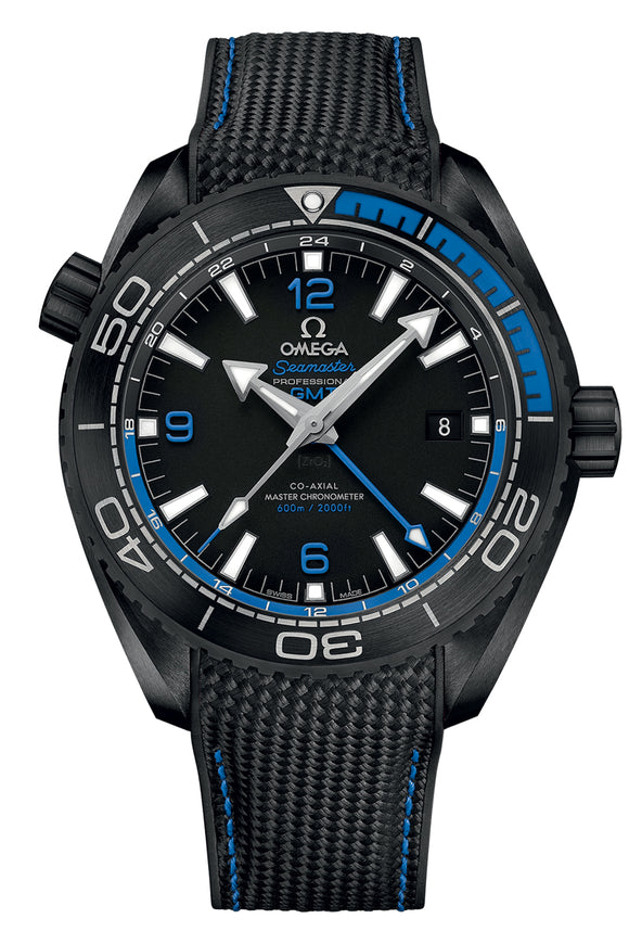 Omega Seamaster Planet Ocean 600M Chronometer GMT 215.92.46.22.01.002