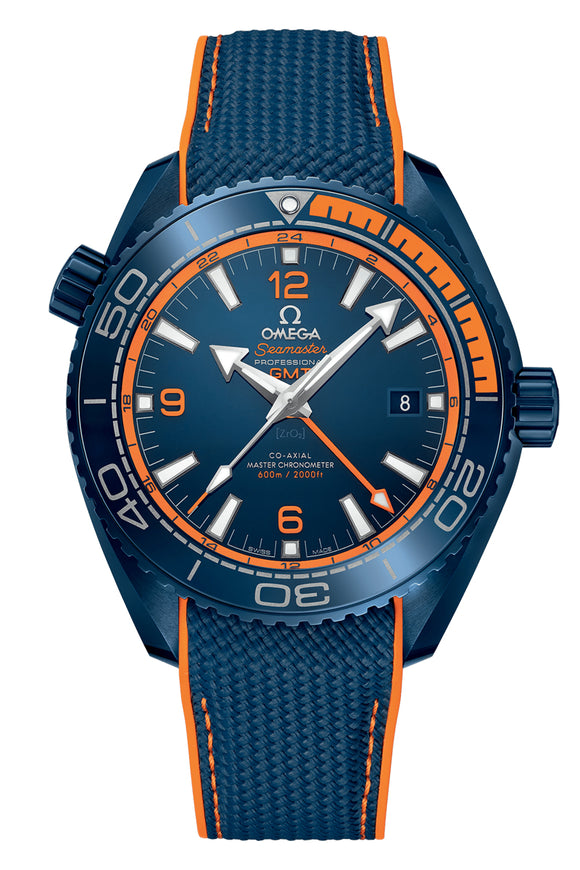 Omega Seamaster Planet Ocean 600m Co-Axial Master Chronometer GMT 45.5mm 215.92.46.22.03.001