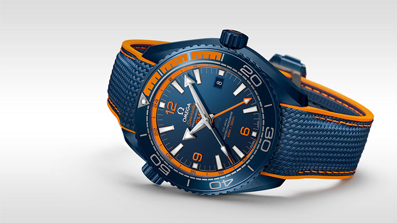 19a038741f68 Omega Seamaster Planet Ocean 600m Co-Axial Master Chronometer GMT 45.5mm  215.92.46.22.03.001