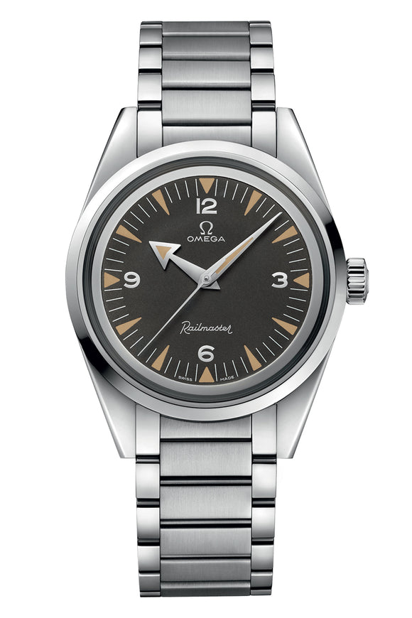Omega Seamaster Railmaster Co-Axial Mmaster Chronometer 38mm 220.10.38.20.01.002