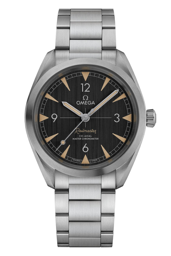 Omega  Seamaster Railmaster Omega Co-Axial Master Chronometer 40mm 220.10.40.20.01.001