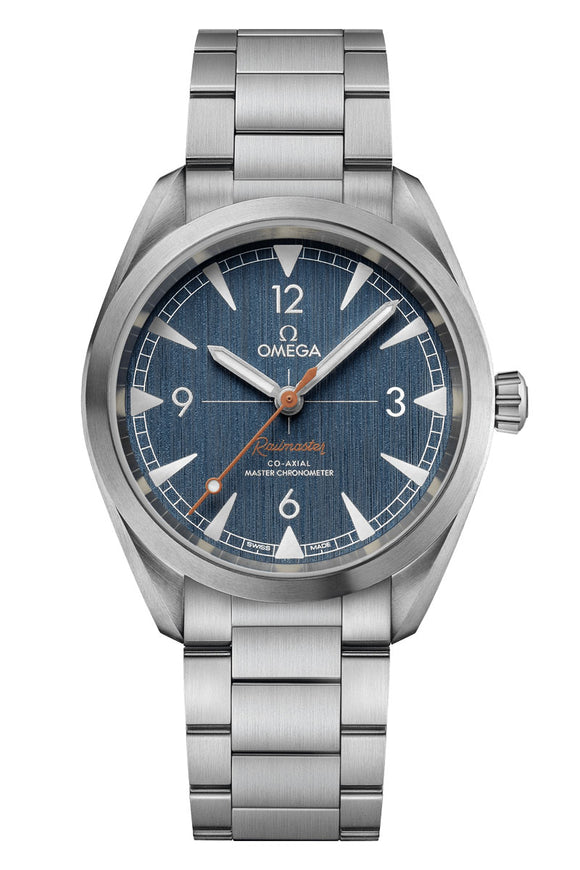 Omega Seamaster Railmaster Steel Co-Axial Master Chronometer  220.10.40.20.03.001