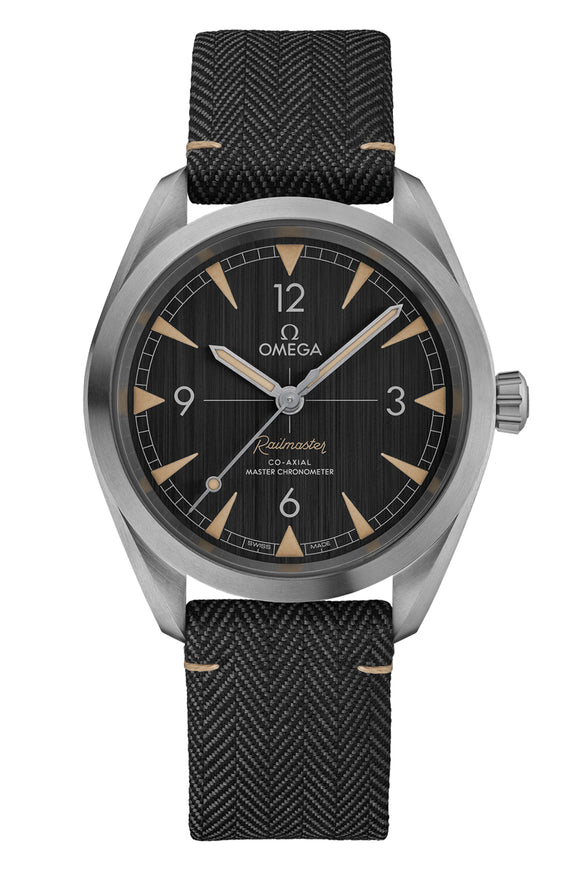 Omega  Seamaster Railmaster Omega Co-Axial Master Chronometer 40mm 220.12.40.20.01.001