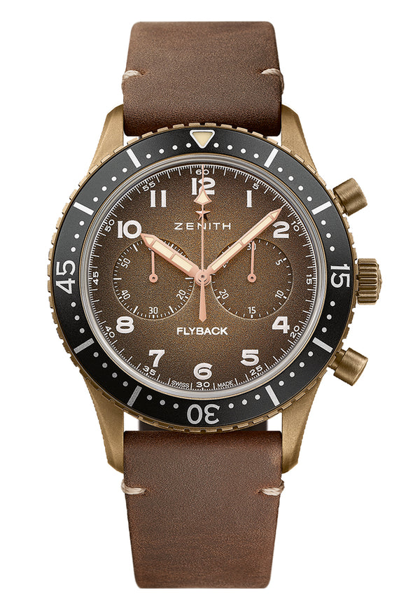 Zenith Pilot Cronometro Tipo CP-2 Flyback 29.2240.405/18.C801