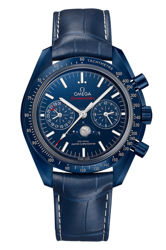 Omega Speedmaster Moonwatch Co-Axial Master Chronometer Moonphase Chronograph 44.25mm 304.93.44.52.03.001