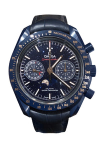 "Omega Speedmaster Moonwatch - ""Aventurine Blue Side of The  Moon "" (304.93.44.52.03.002) (Deposit)"