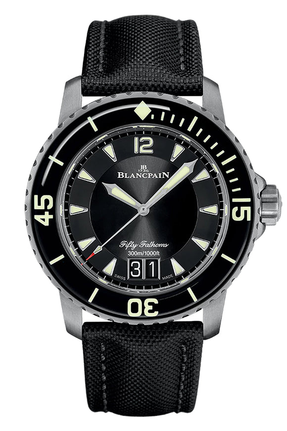 Blancpain Fifty Fathoms Automatic Large Date 5050-12B30-B52A