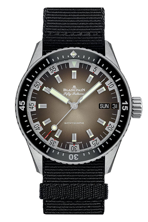 Blancpain Fifty Fathoms Bathyscaphe Day Date 70' 5052-1110-NABA