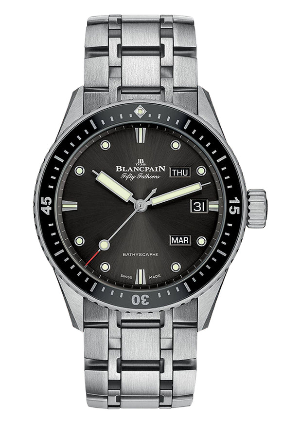 Blancpain Fifty Fathoms Bathyscaphe Annual Calendar 5071-1110-70B
