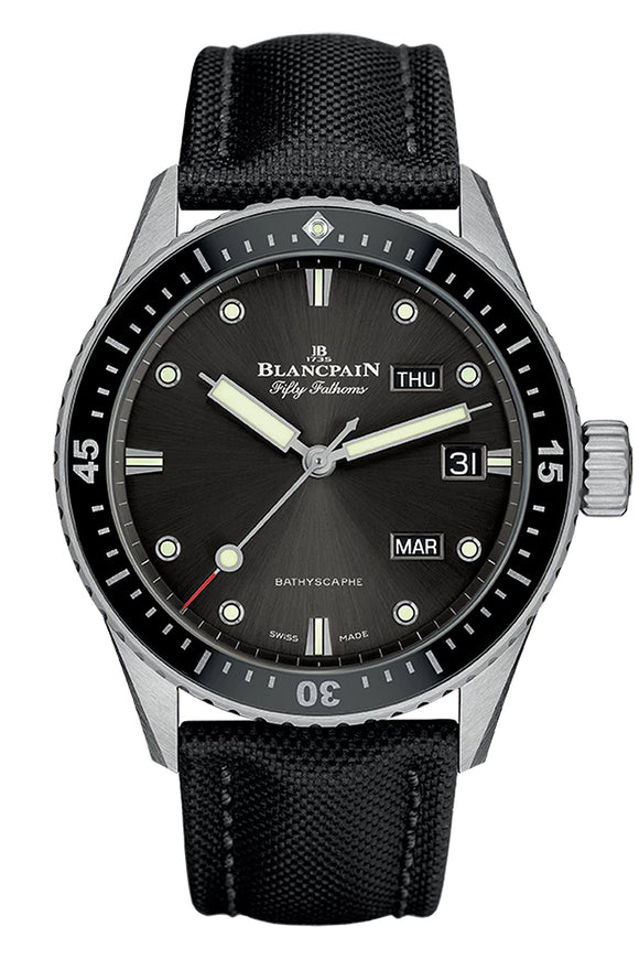 Blancpain Fifty Fathoms Bathyscaphe Annual Calendar 5071-1110-B52A