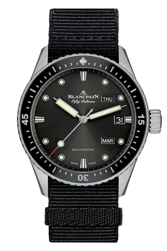 Blancpain Fifty Fathoms Bathyscaphe Annual Calendar 5071-1110-NABA
