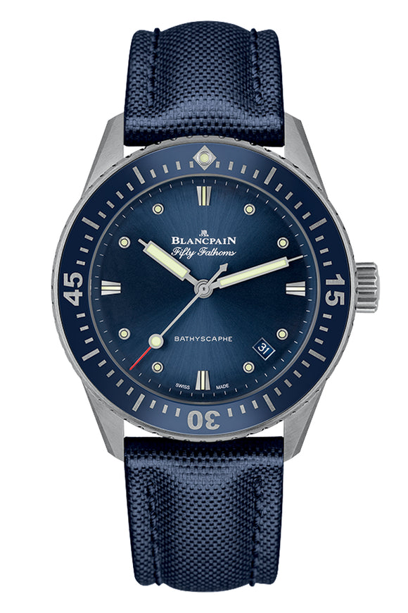 Blancpain Fifty Fathoms Bathyscaphe 5100-1140-O52A