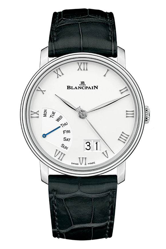 Blancpain Villeret Great Date Day Retrograde 6668-1127-55B