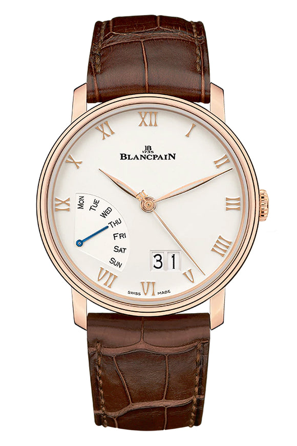 Blancpain Villeret Great Date Day Retrograde 6668-3642-55B
