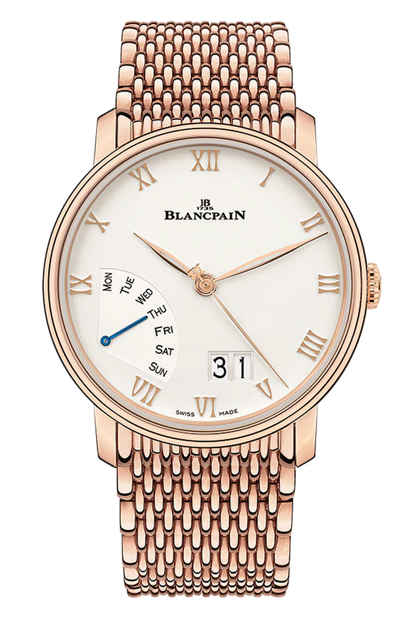 Blancpain Villeret Great Date Day Retrograde 6668-3642-MMB