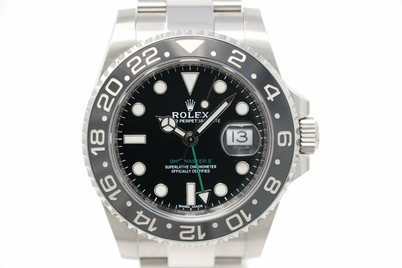 Pre-Owned Rolex GMT Master II M116710LN-0001