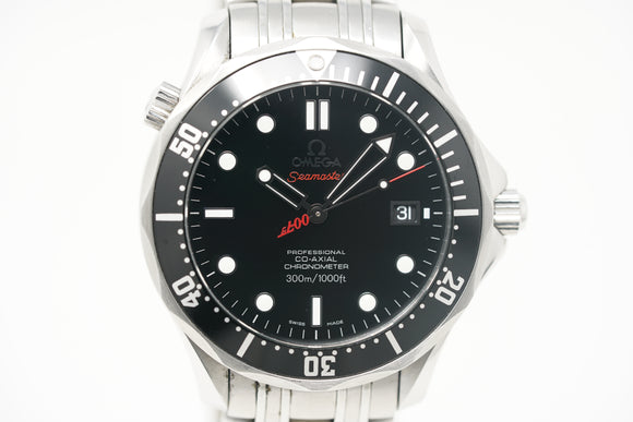 Pre-Owned Omega Seamaster 007 Limited Edition 2008 Collector's Piece 212.30.41.20.01.001