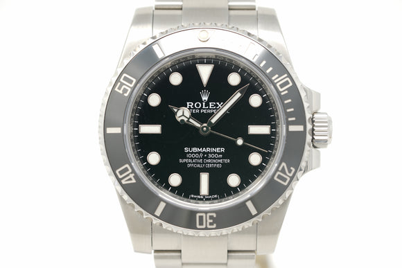 Pre-Owned Rolex Submariner M114060-0002