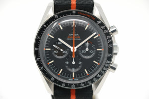 "Pre-Owned Omega Speedmaster Moonwatch Speedy Tuesday ""ULTRAMAN"" Anniversary Limited Series 311.12.42.30.01.001 with Extra Strap"