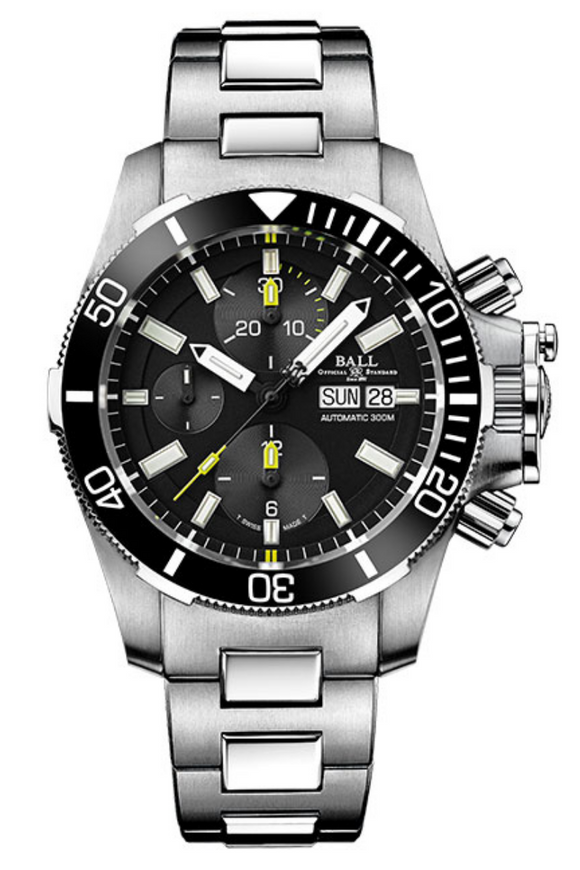 Ball Engineer Hydrocarbon Submarine Warfare Ceramic Chronograph DC2236A-S-BK