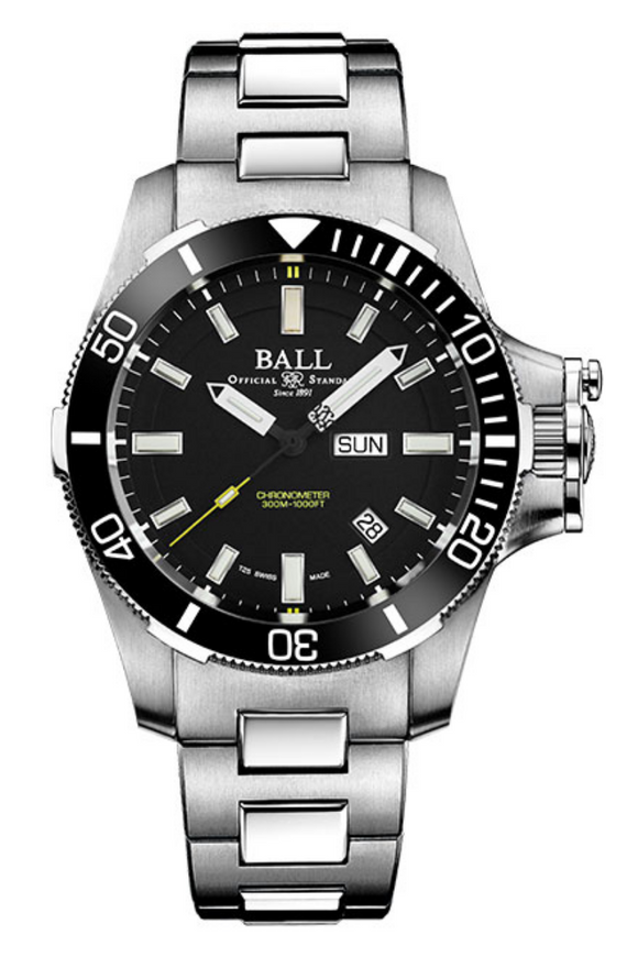 Ball Engineer Hydrocarbon Submarine Warfare Ceramic DM2236A-SCJ-BK