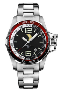Ball Engineer Hydrocarbon Automatic Watch Moon Navigator Limited Edition DM3320C-SAJ-BK