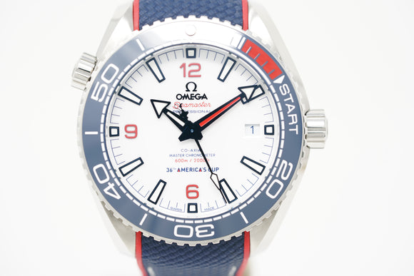 Omega Seamaster Planet Ocean America's Cup Co-Axial Master Chronometer Limited Edition 215.32.43.21.04.001
