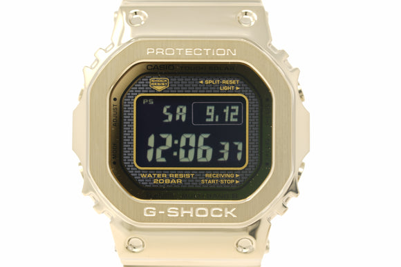 Pre-Owned G-Shock Full Metal Digital GMWB5000GD-9