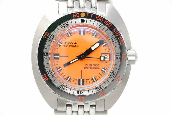 Pre-Owned Doxa Sub 300 Professional 50 Year Anniversary