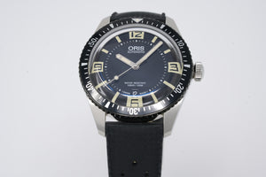 Oris Divers Sixty-Five 01 733 7707 4064-07 4 20 18 with Extra Strap
