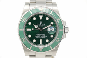 "Pre-Owned Rolex Submariner ""Hulk"" 116610LV-0002"