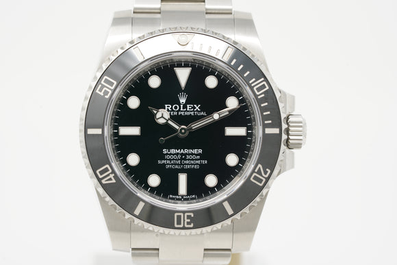 Rolex Submariner No-Date M114060-0002 with Strap & Bracelet