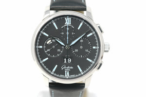 Pre-Owned Glashütte Original Senator Chronograph 1-37-01-03-02-55