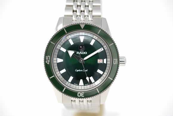 Rado Captain Cook R32505318 with Two Straps and Bracelet