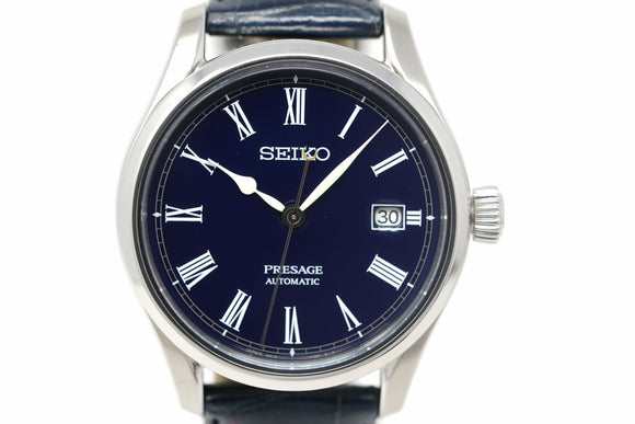 Pre-Owned Seiko Presage Blue Enamel Limited Edition SPB069