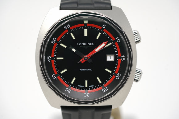 Longines Heritage Diver L2.795.4.52.0 with Extra Strap