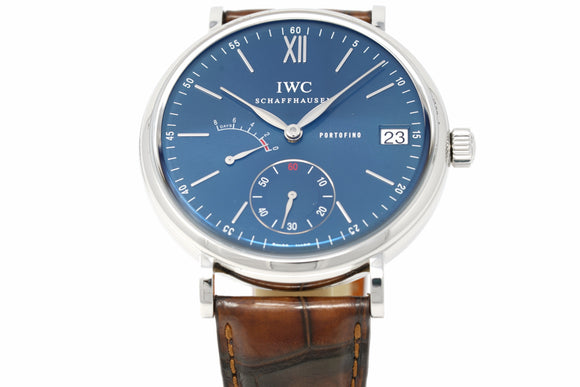 IWC Portofino Hand-Wound Eight Days IW510106 with Two Extra Straps