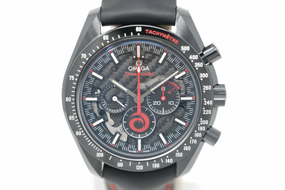 Pre-Owned Omega Dark Side of the Moon Team Alinghi 311.92.44.30.01.002