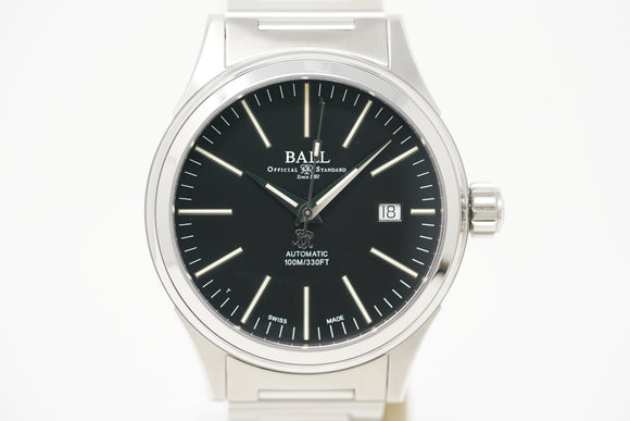 Ball Fireman Enterprise NM2188C-S5-BK with Strap & Bracelet