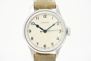 Longines Heritage Military L2.819.4.93.2 with Extra Strap