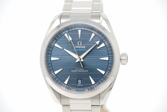 Omega Seamaster Aqua Terra Co-Axial Master Chronometer 220.10.41.21.03.001 with Strap and Bracelet