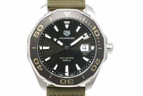 Pre-Owned Tag Heuer AQUARACER WAY101L.FC8222