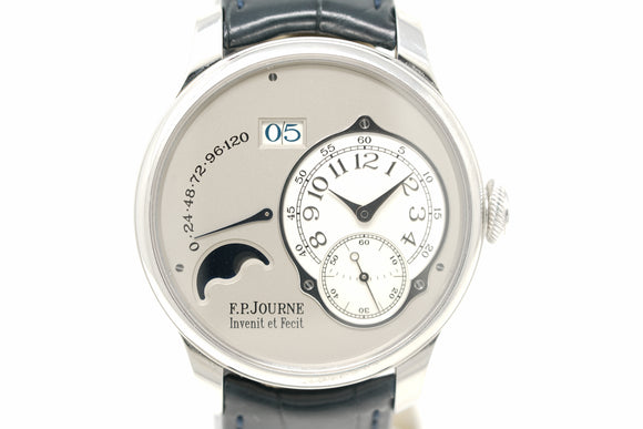 F.P. Journe Octa Lune Platinum Power Reserve Date Display Automatic PT950