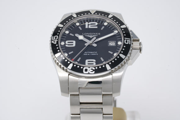 Longines HydroConquest Automatic L3.642.4.56.6 with Bracelet and Rubber Strap