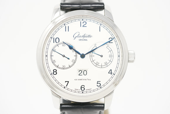 Pre-Owned Glashütte Original Senator Observer 100-14-05-02-04